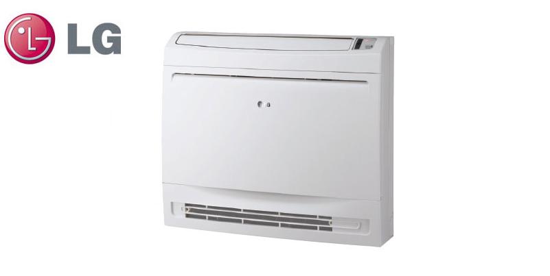 Aer Conditionat 48000 BTU LG UV48 + UU49W Inverter de Tavan sau Pardoseala trifazat pentru Hotel Birou Restaurant Club Cafenea Pensiune