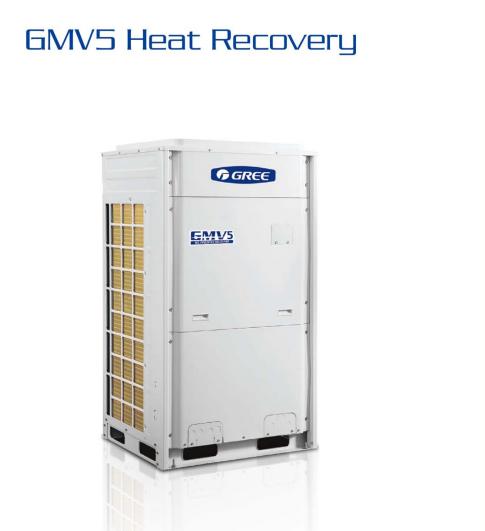 Unitate exterioara pentru sistem multi Gree GMV5 Eurovent DC Inverter GMV-224WM/E-X 22.4 kW trifazat pentru sisteme multi split restaurant cafenea club hotel birou