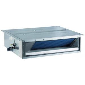 Unitate interioara 2.8 kW Gree tip duct de joasa presiune cu pompa de apa inlcusa GMV-ND28PLS/A-T pentru sisteme multi split restaurant cafenea club hotel birou