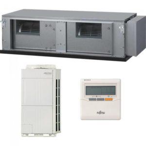 Aer Conditionat 90000 BTU Fujitsu inverter tip duct ARYC90LHTA-AOYA90LALT pentru Hotel Restaurant Cafenea Club Birou