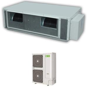 Aer Conditionat 42000 BTU CHIGO inverter V125W/R1/V120TB/HR1-B tip duct pentru climatizare Hotel Restaurant Cafenea Club Birou