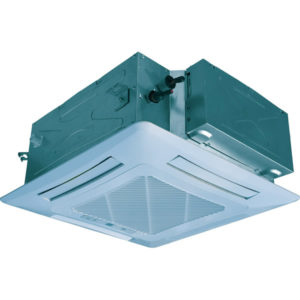 Unitate interioara 3.6 kW Gree tip caseta compacta pe 4 directii GMV-ND36T/B-T pentru sisteme multi split restaurant cafenea club hotel birou