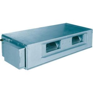 Unitate interioara 7.1 kW Gree tip duct de inalta presiune cu pompa de apa inlcusa GMV-ND71PHS/A-T pentru sisteme multi split restaurant cafenea club hotel birou