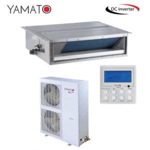 Aer Conditionat 60000 BTU Yamato Inverter Tip Duct cu Tubulatura YD60IG pentru Hotel Restaurant Cafenea Club Birou