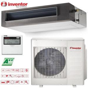 Aer Conditionat 12000 BTU Inventor inverter V4MDI-12/U4MRS-12 tip duct cu tubulatura pentru hotel restaurant cafenea club