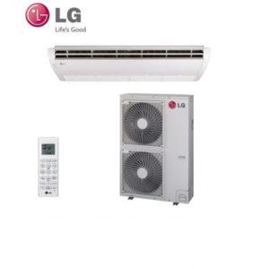 Aer Conditionat 42000 BTU LG Inverter Tip CV de Tavan sau Pardoseala UV42 + UU43W trifazat pentru Hotel Birou Restaurant Club Cafenea Pensiune