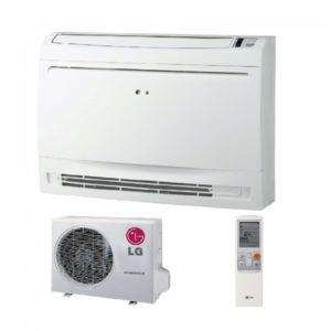 Aer Conditionat 9000 BTU LG CQ09 + UU09W Inverter de Tavan sau Pardoseala pentru Hotel Birou Restaurant Club Cafenea Pensiune