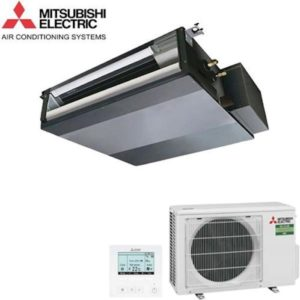Aer Conditionat slim duct inverter Mitsubishi Electric 9000 btu SEZ-M25DA - SUZ-M25VA pentru Hotel Restaurant Cafenea Club Birou